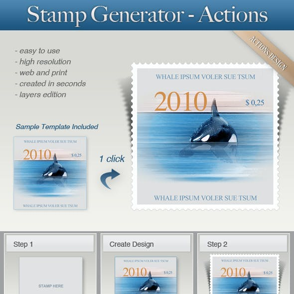 Stamp Generator