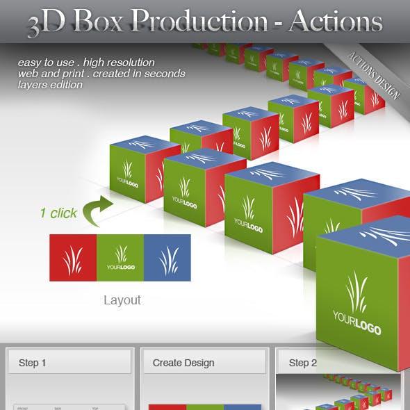 3D Box - Production