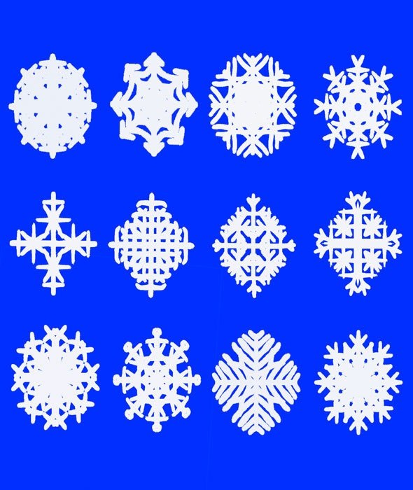 Snowflakes Brushes - Miscellaneous Brushes