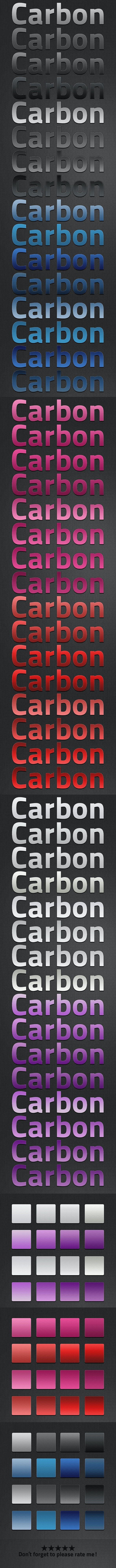 Carbon v2 Style - Text Effects Styles