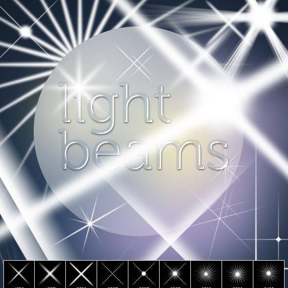 Light Beams Brush