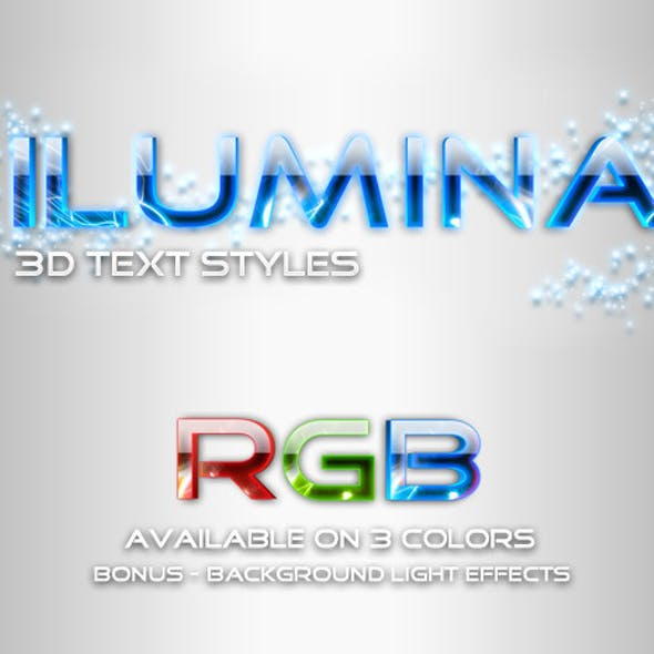 Ilumina Glowing Text Styles