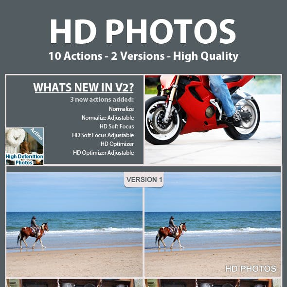 HD Photos - Actions