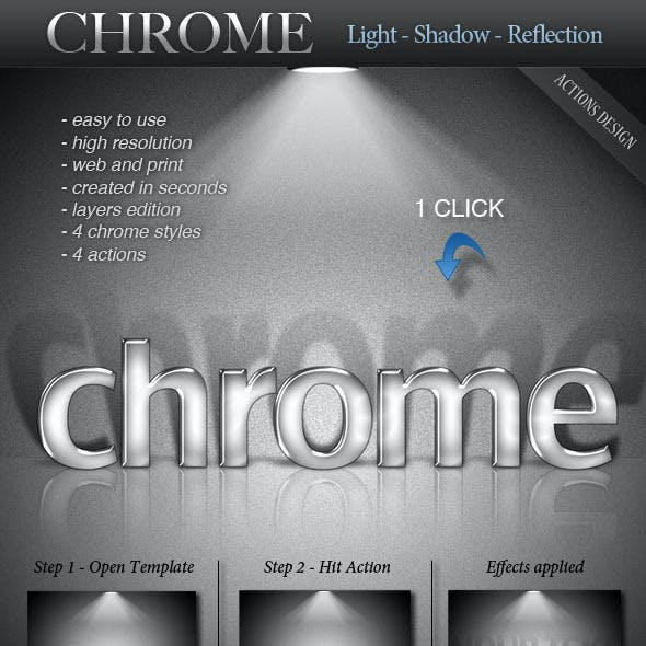 CHROME - Light - Shadow - Reflection