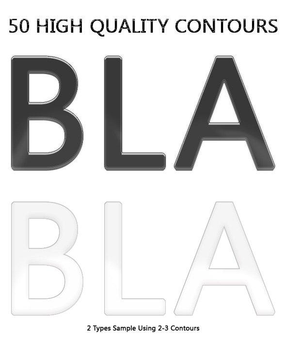 50 Contours - Miscellaneous Shapes