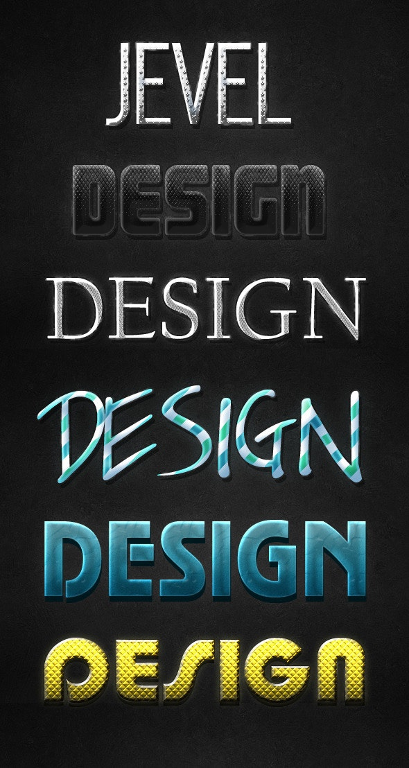Text Styles v.1 - Text Effects Styles