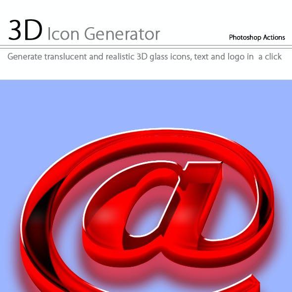 3D Icon Generator