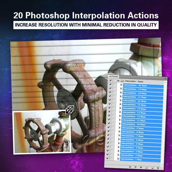 Image Interpolation Action