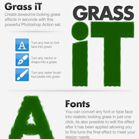 Grass iT - Photoshop Action
