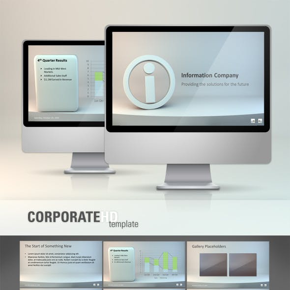 Corporate HD Powerpoint Template