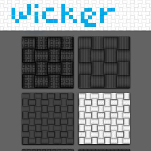 WICKER-pattern