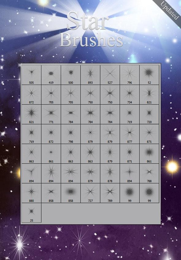 Star Brushes - Brushes Photoshop
