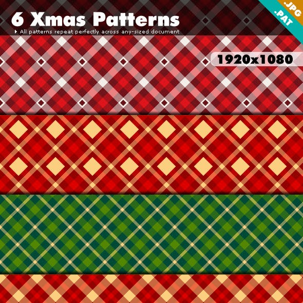 Xmas Patterns Pack 1