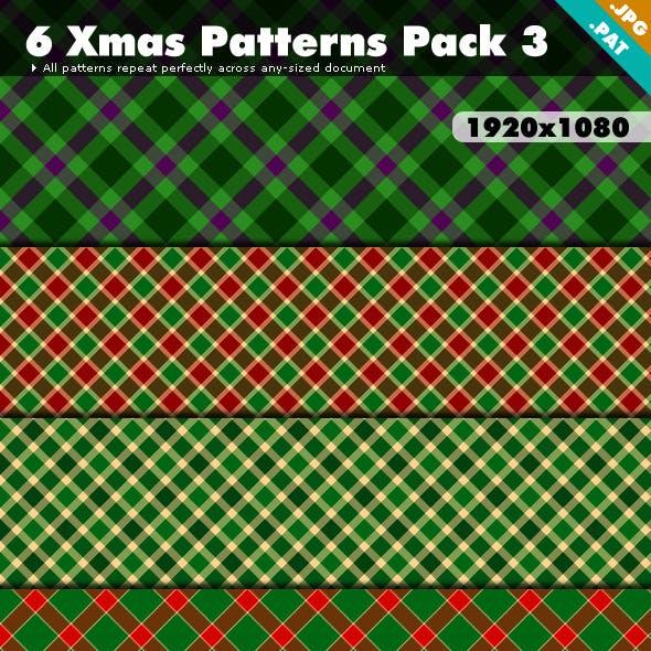 Xmas Patterns Pack 3