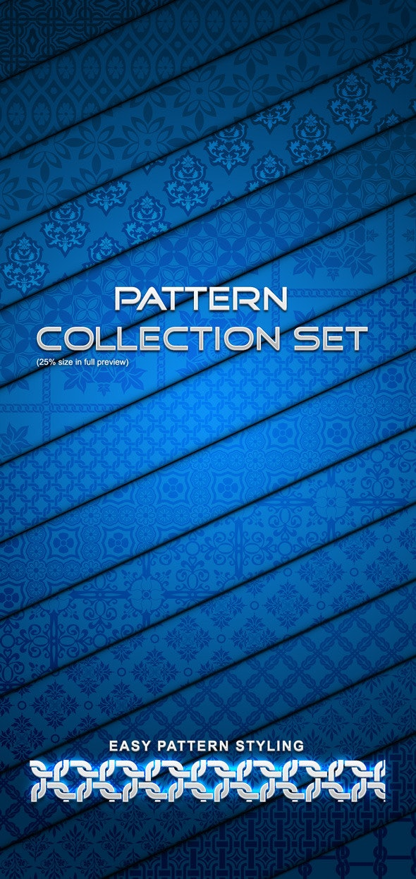 Pattern Collection Set - Artistic Textures / Fills / Patterns