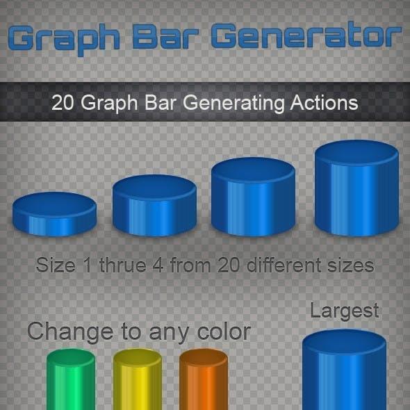 3D Graph Bars Generator