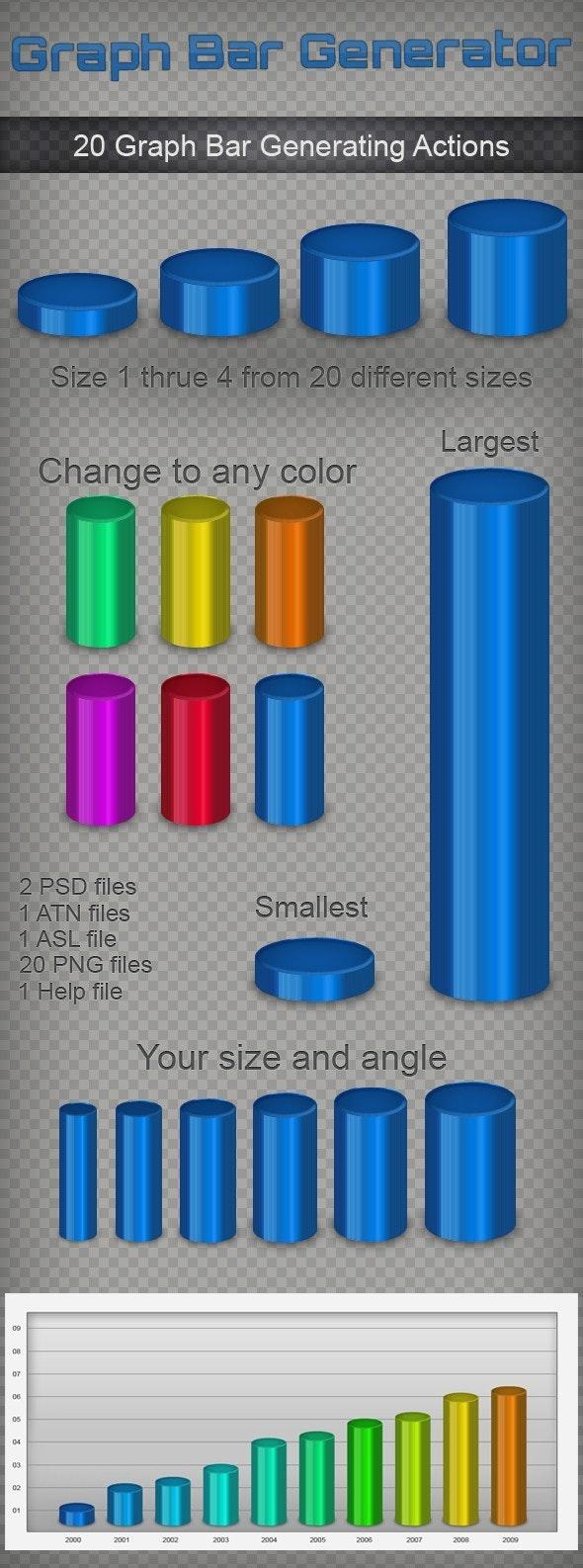 3D Graph Bars Generator - Utilities Actions