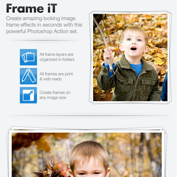 Frame iT - Image Framing Action