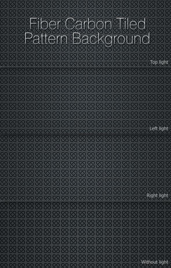 J Fiber Carbon Tiled Pattern Background - Techno / Futuristic Textures / Fills / Patterns
