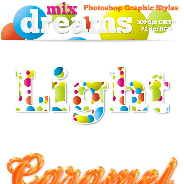 Mix Dreams - Photoshop Graphic Styles