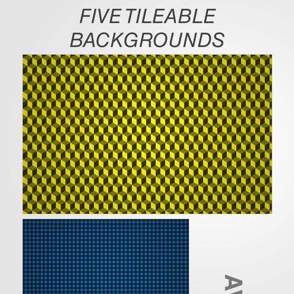 Five Tileable Textures / Styles