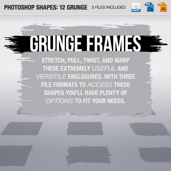 12 Grunge Frames