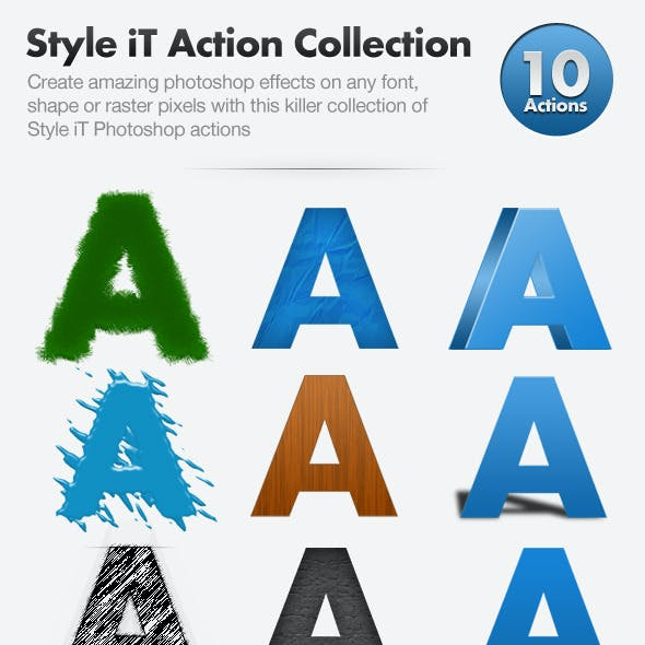Style iT Action Collection - 10 actions