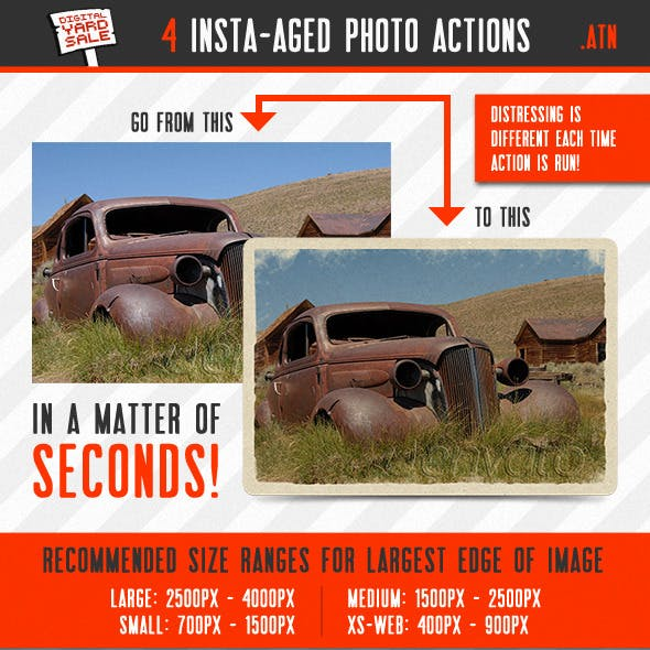 4 Insta-aged Photo Actions