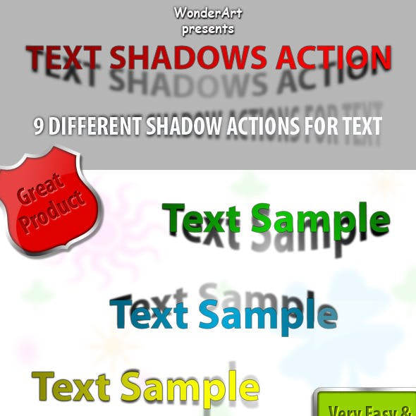 Text Shadow Action