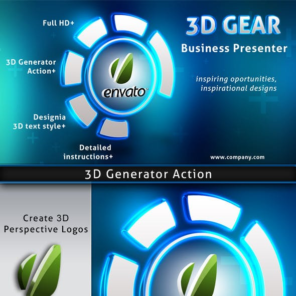 3D Gear Business Presentation