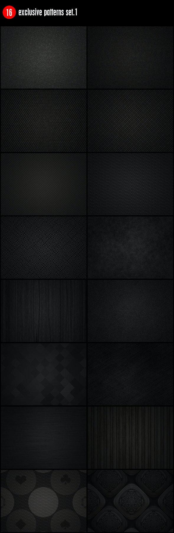 16 Exclusive Patterns Set.1 - Urban Textures / Fills / Patterns