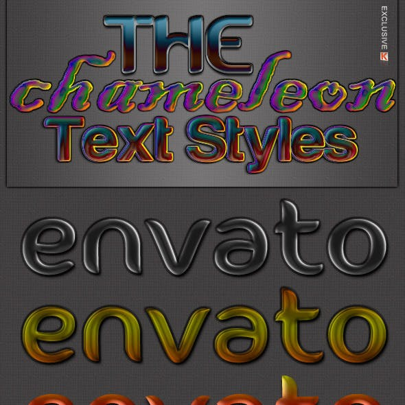 The Chameleon - Text Styles
