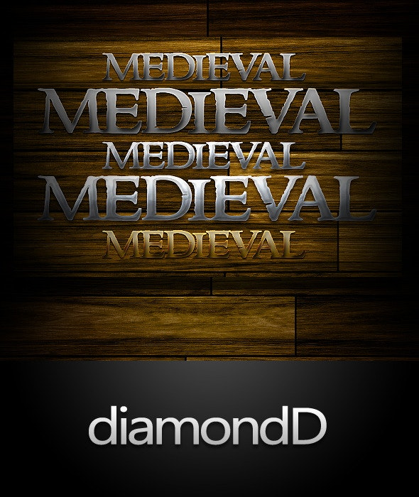 Medieval Styles - Text Effects Styles