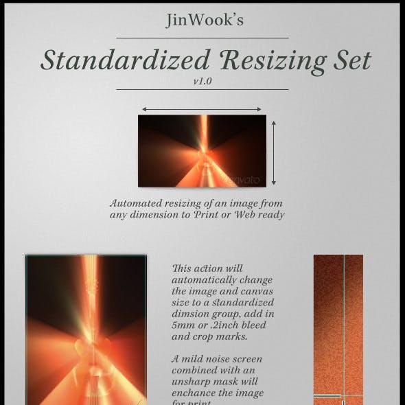 JinWook's Standardized Resizing Set