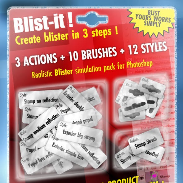 Blist-it! Make Blister Quickly and Simply