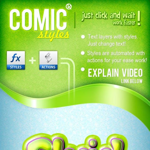 5 Comic styles