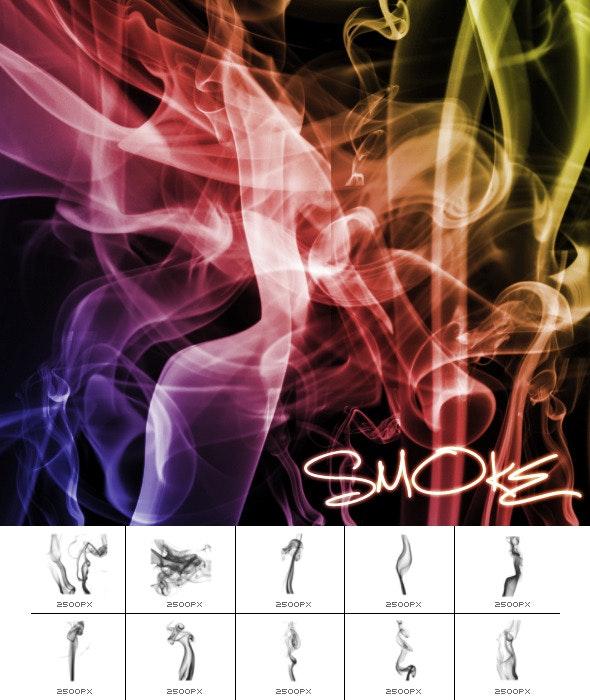 Smoke Series 1 - Brushes Photoshop