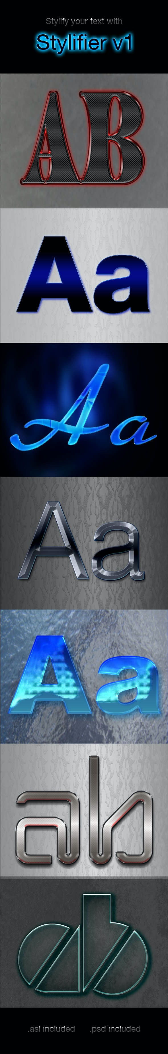 Stylifier v1 - Text Effects Styles