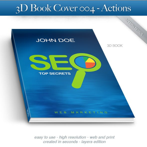 3D Book Cover 004