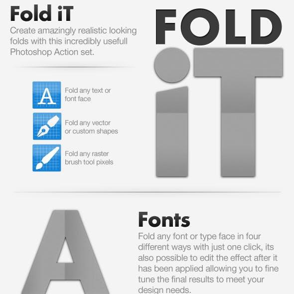 Fold iT - Fold Creating Action