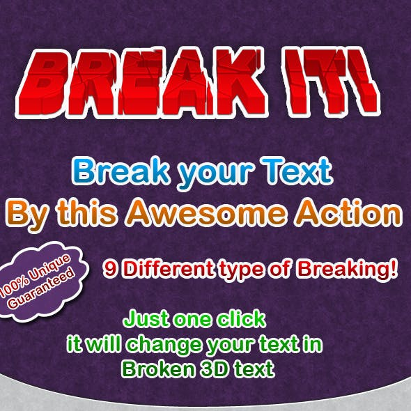 Break It !!