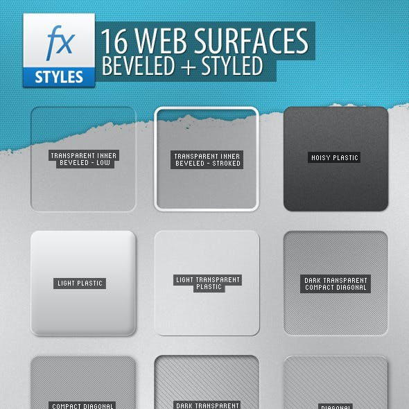 16 Resizable Web Surfaces