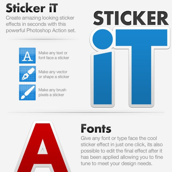 Sticker iT - Sticker Creating Action