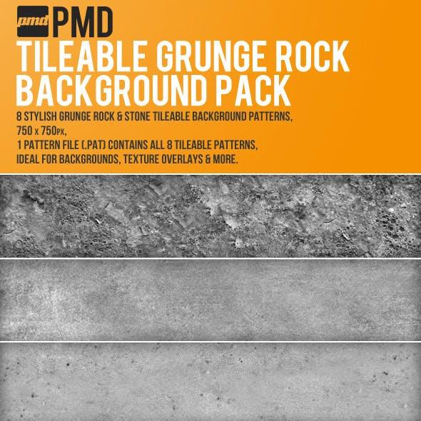 8 Tileable Grunge Rock Backgrounds