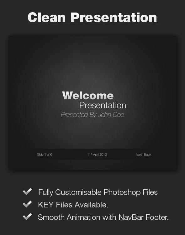 Black Strong Presentation - Keynote Templates Presentation Templates