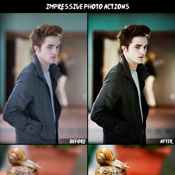 3 Impressive Photo Actions