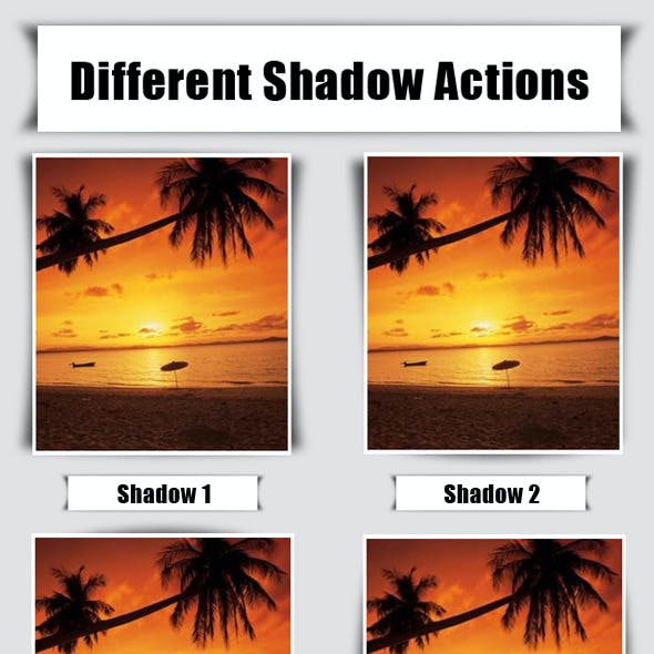 Shawdow Actions for Photos