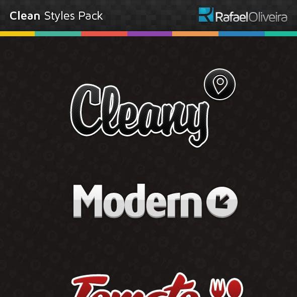 Clean Styles Pack
