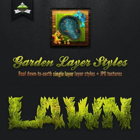 Garden Layer & Text Styles