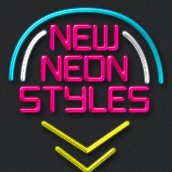 New Neon Styles